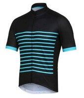 2017 Nouveau Pro Cycling team Jersey Vélo Vêtements Ropa Ciclismo Respirant À Manches Courtes 100% Polyester vêtements de cyclisme Pour VTT