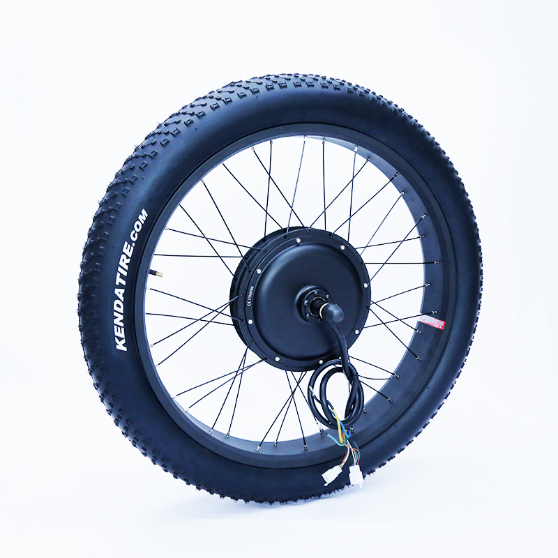 Front or rear motor 65km/h 48v 1500w electric fat bike conversion kit - Cycling - Photo 2