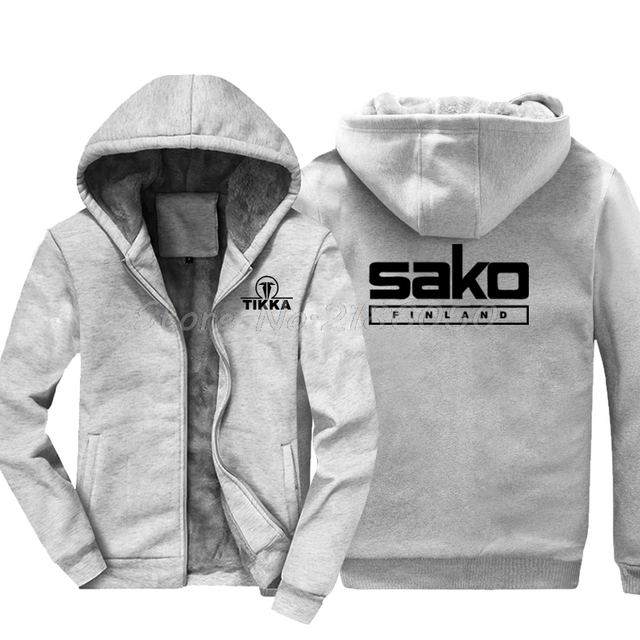 b4952b07736f80 Hot Sale Fashion Men Cotton Hoodie New Tikka By Sako Finland Firearms Logo  Men s Black Sweatshirt Harajuku Jackets Tops
