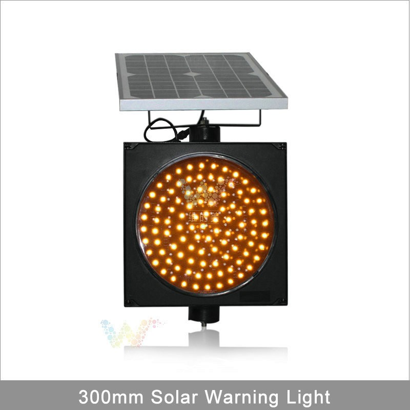 Solar Led Amber Flashing Warning
