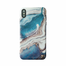 hot deal buy blue glitter ink painting marble phone cases for iphone 7 plus case matte soft tpu case for iphone 6s 6 7 8 plus xr xs max cover