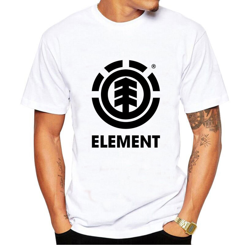 New   T     shirt   Men Element Of Surprise Periodic Table Nerd Geek Science Mens   T     Shirt   Harajuku Funny Short sleeve Male Fashion Tops