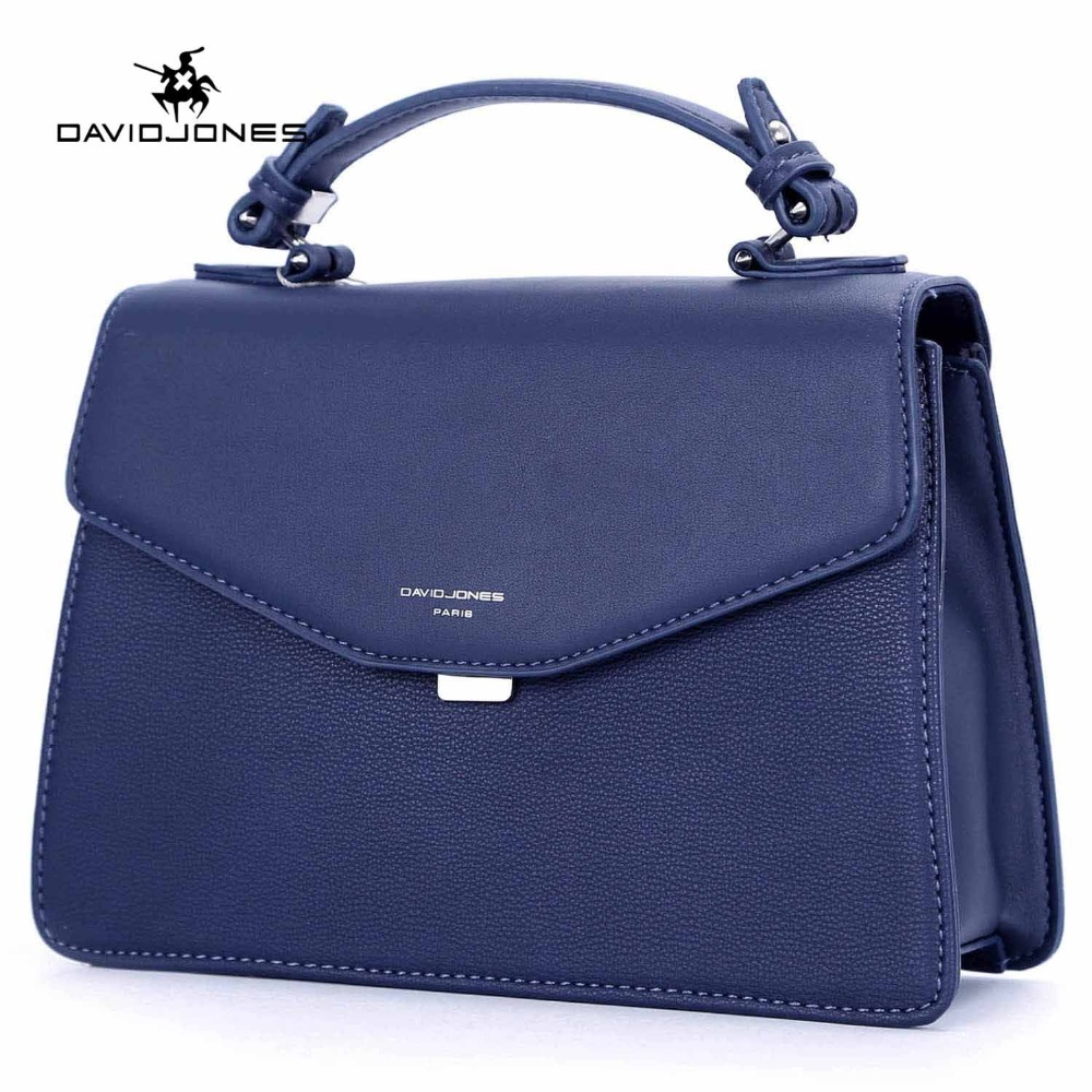 DAVIDJONES women messenger bags faux leather female handbag big lady solid shoulder bag girl brand crossbody bag free shipping 2016 women fashion brand leather bag female drawstring bucket shoulder crossbody handbag lady messenger bags clutch dollar price
