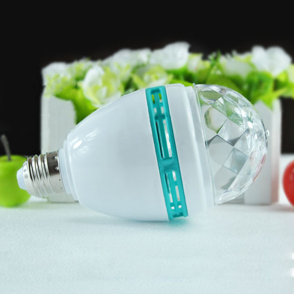 LED E27 Colors Night Projection Lamp Luminaire Projector Stage Holiday Light For Home Decoration