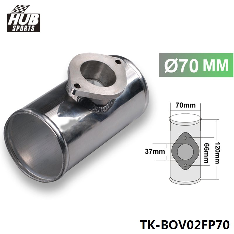70MM 2.75 ALUMINUM TURBO PIPE / PIPING FLANGE ADAPTOR FOR RS / S TYPE BOV For Toyota Chassis 84-89 HU-BOV02FP70