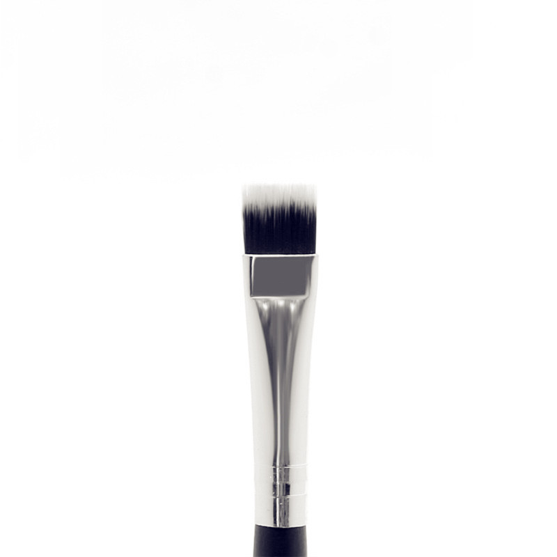 Flat Head Makeup Brushes Wooden Handle High Quality Highlighter Brush Eyebrow Brush T  Region Beauty Tool