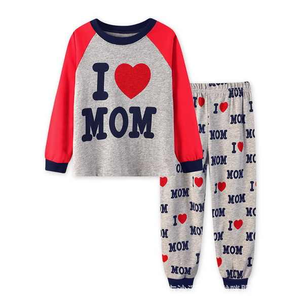 fc53ae576 Detail Feedback Questions about New style Children pajamas Baby Long ...
