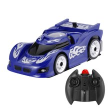 Yellow Wall and Ceiling Remote Control Car Racer
