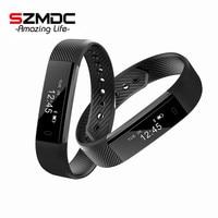 Original ID115 Smart Bracelet Fitness Tracker Watch Alarm Clock Step Counter Smart Wristband Band Sport Sleep