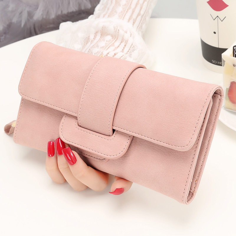 2019 Fashion Wallet Women's Purse Wallet Card Holder Female Clutch Long Purse Multi-card Bit Luxury Designer Lady Coin Purses(China)