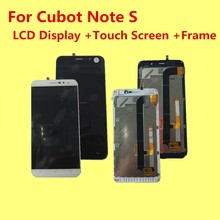 Original PARA CUBOT NOTA S LCD Display + Touch Screen + Frame Digitalizador Asamblea Reemplazo Accesorios 5.5″