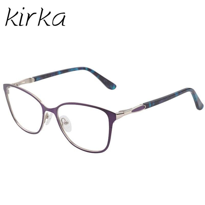 Kirka Retro Οπτικό Clear Lens Μεταλλικά Γυαλιά - Αξεσουάρ ένδυσης - Φωτογραφία 3