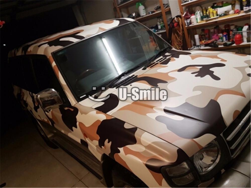 Jumbo Desert Camouflage Vinyl Wrap Sticker Roll Desert Camo Vinyl Film For SUV TRUCK Jeep 30M/Roll zipit пенал camo jumbo pouch цвет серый камуфляж