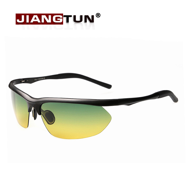 JIANGTUN Sale New Adult Men 2017 Day Night For Vision Goggles Driving Polarized Sunglasses For Men's Car Glasses Anti-glare