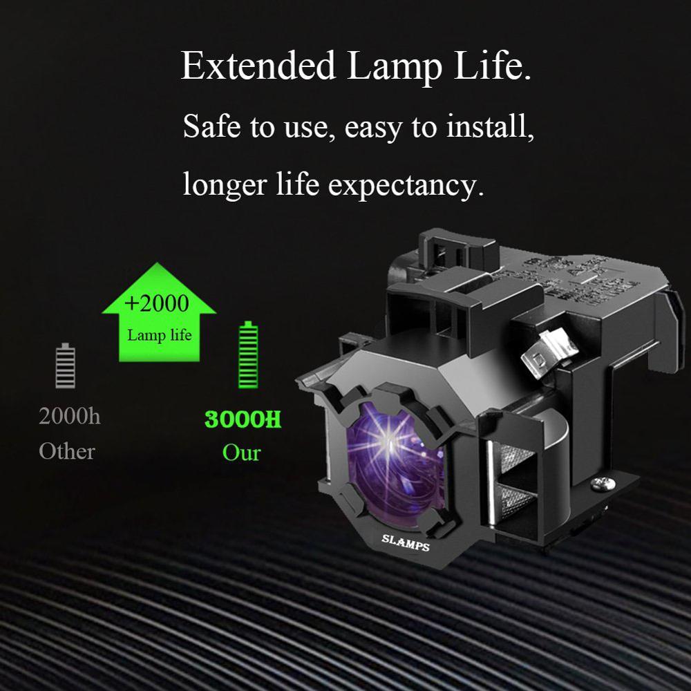 Consumer Electronics ... Home Audio & Video Equipments ... 32815067538 ... 3 ... Compatible EMP-S5 EMP-S52 EMP-T5 EMP-X5 EMP-X52 EMP-S6 EMP-X6 EMP-260 EB-S6 EB-S6+ Projector  lamp ELPL41 V13H010L41 for Epson ...
