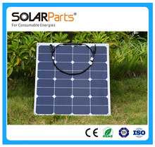 50W high efficiency flexible solar panel for home solar system