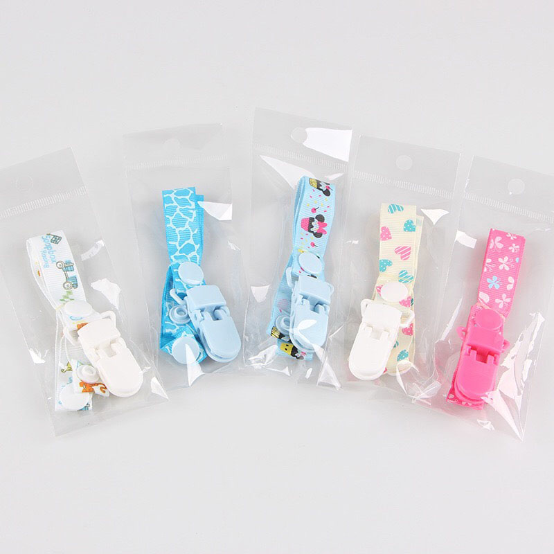 Newborn Soothie Pacifier Clip Cute Baby Dummy Clips Toddler Infant Dummy Chains Anti-skid Teething Pacifier Holder