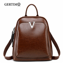 A fashionable Genuine Leather Backpack for Women Backpack Bags Schoolbags for Girls Backpack Backpack Lady Black;rugzakken dames cooskin lightweight soft and lively lady genuine leather lockme backpack women s favorite backpack free shipping