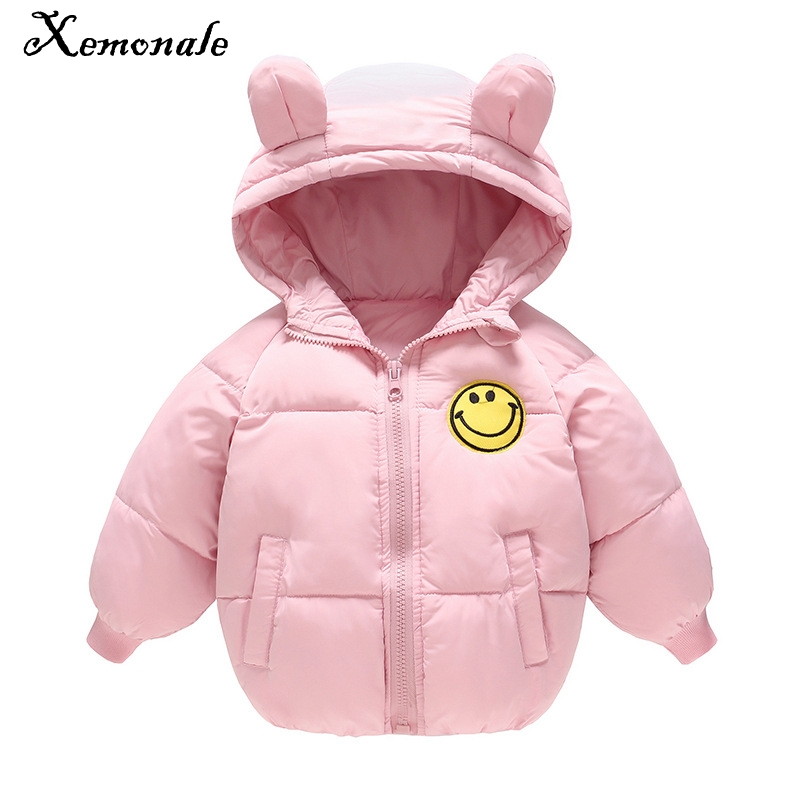 Xemonale 2018 lovely New Winter Boys  Girls Childrens Feather Down Cotton clothes Baby Boy Baby Girl Thicker Cotton Coat JacketXemonale 2018 lovely New Winter Boys  Girls Childrens Feather Down Cotton clothes Baby Boy Baby Girl Thicker Cotton Coat Jacket