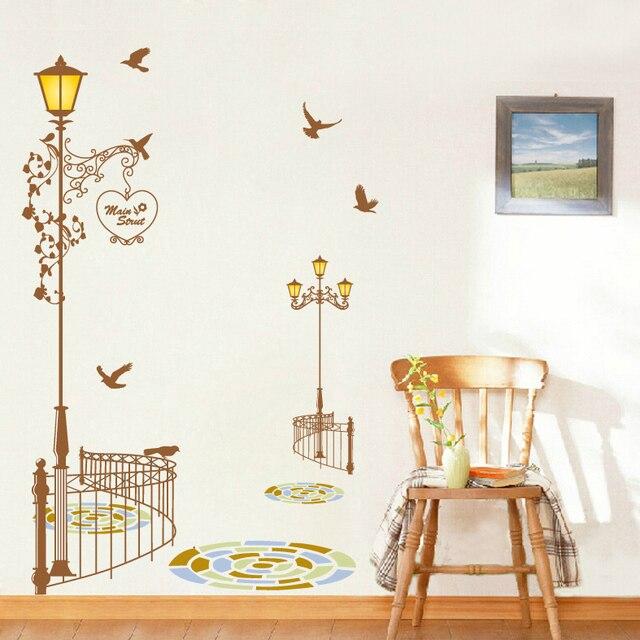 Lichter geländer dekorative wandaufkleber romantische hochzeit ...
