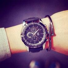 Mode Cool Grand Cadran QF Marque Sport Antichoc Souple En Caoutchouc Quartz Montre Horloge Montre-Bracelet pour Hommes Mâle Garçon Noir