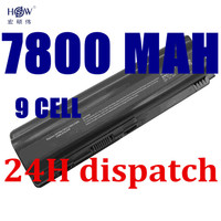 New 9Cell Laptop Battery For HP Pavilion DV4 DV5 DV6 Battery HSTNN IB72 HSTNN LB72 HSTNN