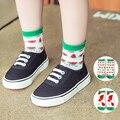 Crianças bebê Meias de Algodão Respirável Meias Bonito melancia Impresso Para 1-10 T Crianças