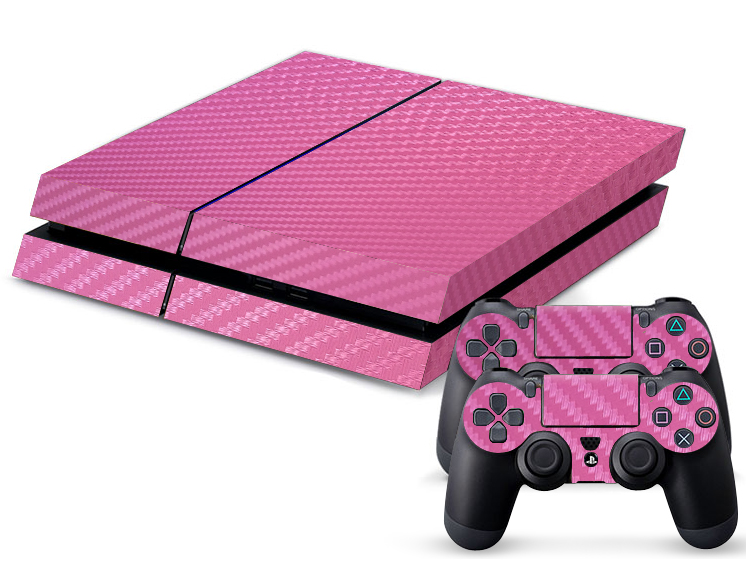 Pink Alu Motiv Video Game Accessories Buy Cheap Sony Ps4 Playstation 4 Skin Design Aufkleber Schutzfolie Set Video Games & Consoles