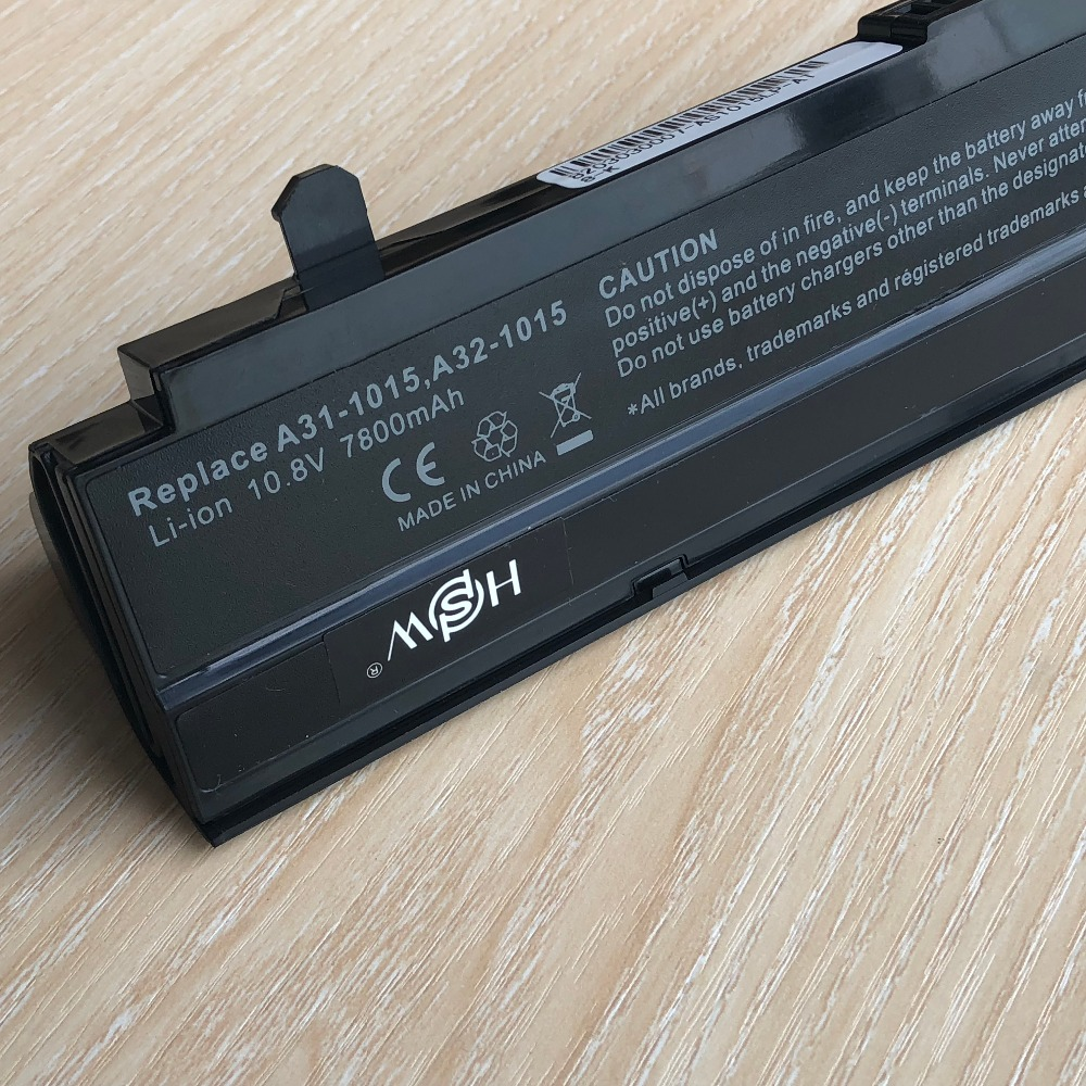Image 4 - 7800mAH Black Laptop battery For Asus Eee PC VX6 1011 1015 1015P 1015PE 1016 1215N 1215B A31 1015 A32 1015 AL31 1015 PL32 1015-in Laptop Batteries from Computer & Office
