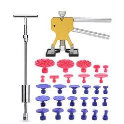 Conjuntos de ferramentas ferramentas pdr corpo do carro auto dent levantador removedor reparação kit extrator ferramentas slide martelo ventosa kits carro acessórios