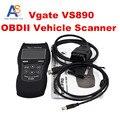 2016 OBD2 Сканер Высокое Качество Vgate VS890 многоязычная Автомобилей Code Reader Авто Диагностический Инструмент ПРОТИВ 890 VS-890