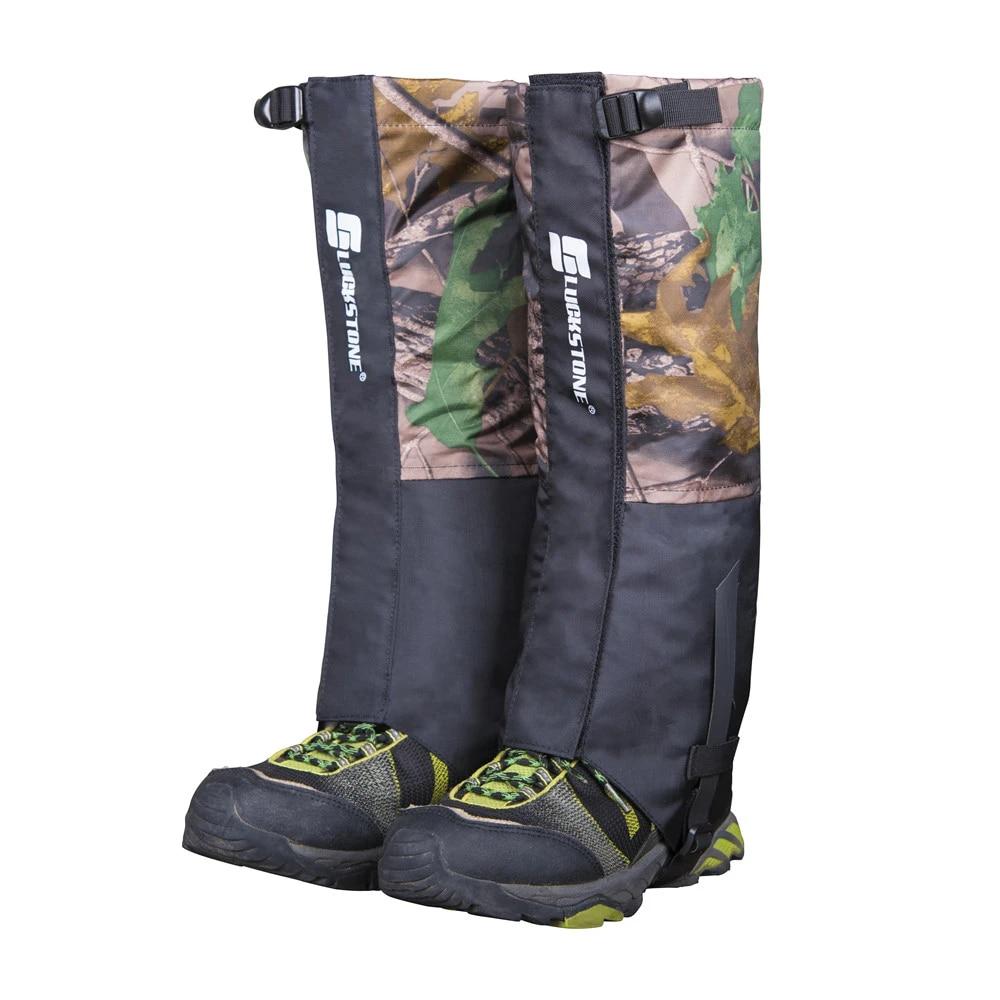 Breathable Camo Legging Gaiters Hiking Walking Climbing Hunting Snow Waterproof
