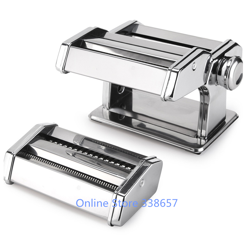 Hand Crank Kitchen Appliances: Stainless Steel Manual Noodle Maker Tools Home Hand Crank