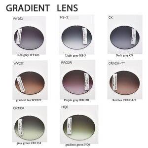 Image 4 - Par de lentes ópticas teñidas para presbicia miopía, graduadas, resistentes A los arañazos, índice 1,56 1,61 1,67