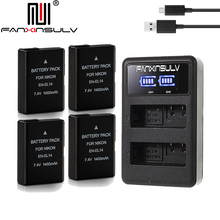 4x EN-EL14 en el14 battery + charger for Nikon D5300 SLR camera battery D5600 D5100 D5200 D5500 D3500 D3400 D3300 D3200 Tracking все цены
