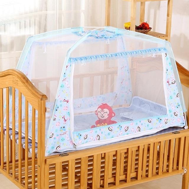 Door Type Zipper Outdoor Kids C&ing Tent Baby Bed Mosquito Net Infant Crib Cradle Netting Portable & Door Type Zipper Outdoor Kids Camping Tent Baby Bed Mosquito Net ...