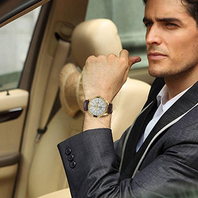 Men Business Waterproof Casual Wrist Watch 2