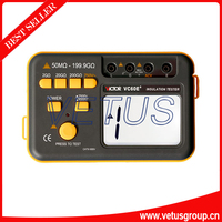 VICTOR VC 60E + Digitale Isolierung Widerstand Tester 50 mt ohm 199.9G ohm Isolierung Tester|insulation tester|testervc -