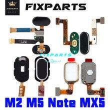 Meizu MX5 Home Button M2 M3 M5 Note Fingerprint Touch ID Sensor Recognition Flex Cable Ribbon Replacement Parts Meizu MX5 Button meizu mx5 16gb