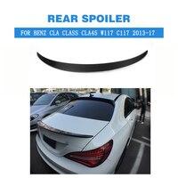 Carbon/FRP Unpainted Rear Spoiler Trunk Boot Wings for Mercedes Benz CLA Class W117 C117 CLA180 CLA200 CLA260 CLA45 Sedan 13 17