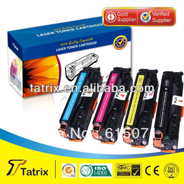 ФОТО FREE DHL MAIL SHIPPING. CC531A Toner Cartridge ,Triple Test CC531A Toner Cartridge for HP toner Printer