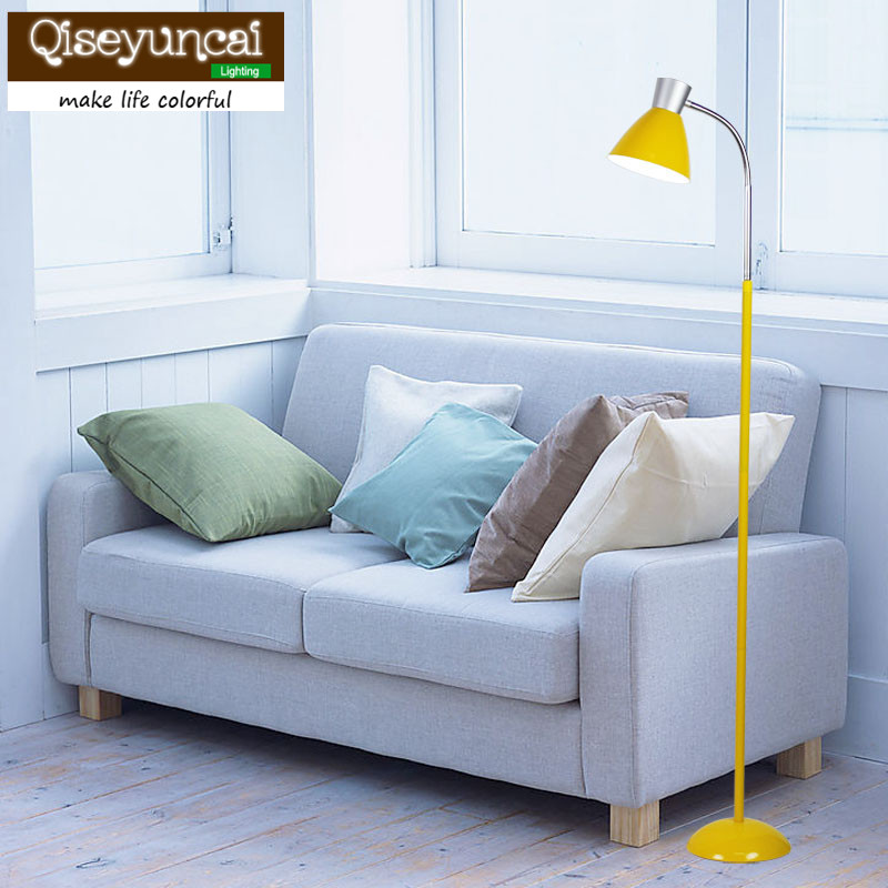 Lamps & Shades Qiseyuncai Nordic Modern Minimalist Led Remote Control Light Adjustable Floor Lamp Living Room Bedroom Study Lamps And Lanterns Buy One Give One Lights & Lighting