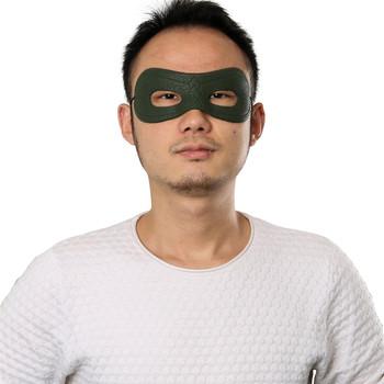 Serial telewizyjny Green Arrow sezon 4 Oliver Queen maska Cosplay męska maska na oczy na gadżety na Halloween tanie i dobre opinie takerlama CN (pochodzenie) Maski Unisex Dla dorosłych Kostiumy Green Arrow Classic Halloween Costumes silicone Support