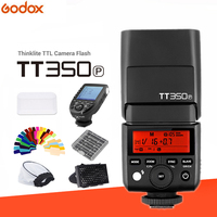 Godox Мини лампа вспышка TT350 TT350P камера 2,4 ГГц Беспроводная Вспышка ttl HSS GN36 + Беспроводная вспышка XPro P триггер для Камеры Pentax