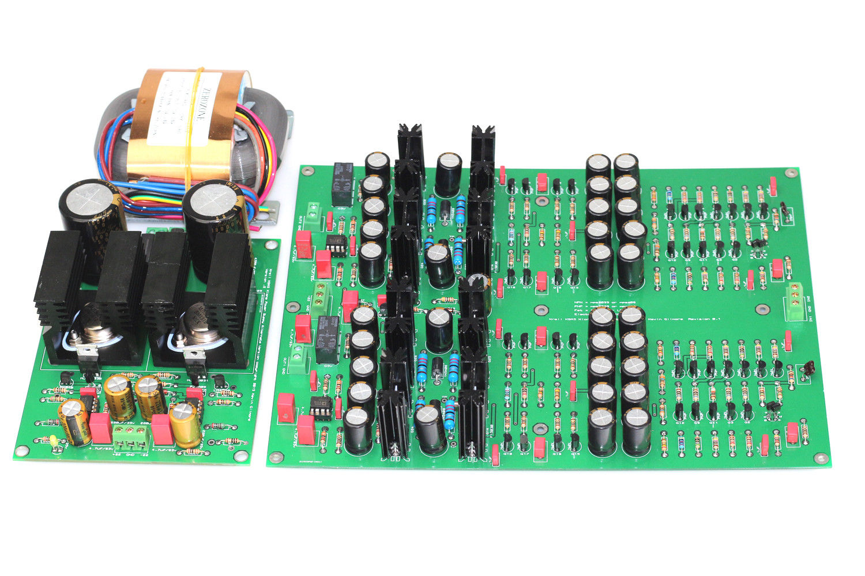цена на ZEROZONE Assembeled KG Version KSA5 Headphone Amp Board + Power supply board L8-35