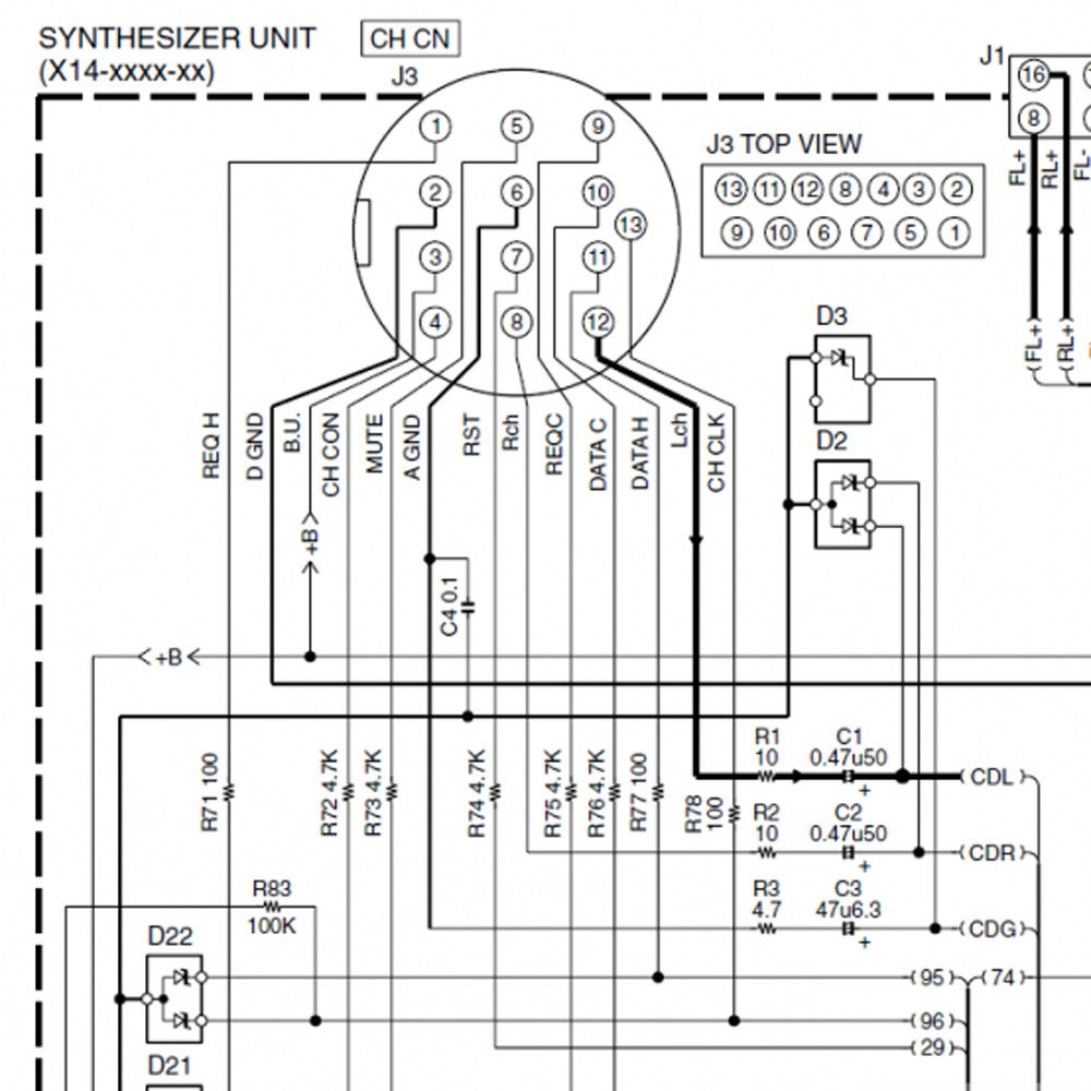 hight resolution of kenwood 13pin aux