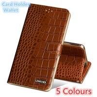 QH15 Wallet genuine leather flip case for LG V30 phone case for LG V30 back case with card slots free shipping