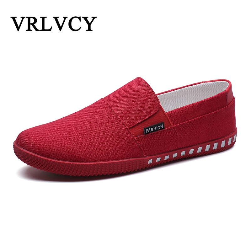 2018 men casual shoes Fashion soft loafers slip-on shoes summer men canvas shoes breathable Street trend Casual Loafers fonirra men casual shoes 2017 new summer breathable mesh casual shoes size 34 46 slip on soft men s loafers outdoors shoes 131