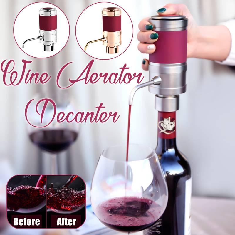 Nouveau Smart électronique vin décanteur Sobering outils Portable vin décanteur pompe électrique verseur vin goût rouge vin accessoires