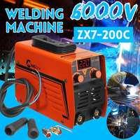 ZX7 200C Handheld IGBT Inverter MMA ARC Welding Mini Welder Machine 25 300A 220V